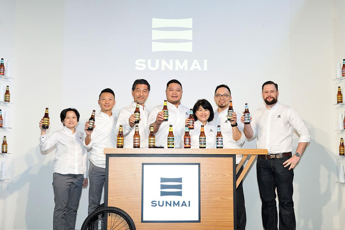 『金色三麥集團』旗下啤酒新品牌『 SUNMAI 』隆重上市