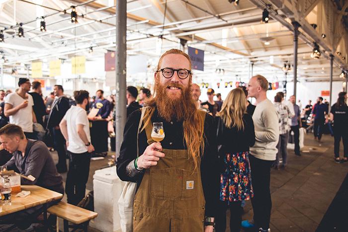來自瑞典的零售商 Andrew ,也是自釀啤酒的愛好者