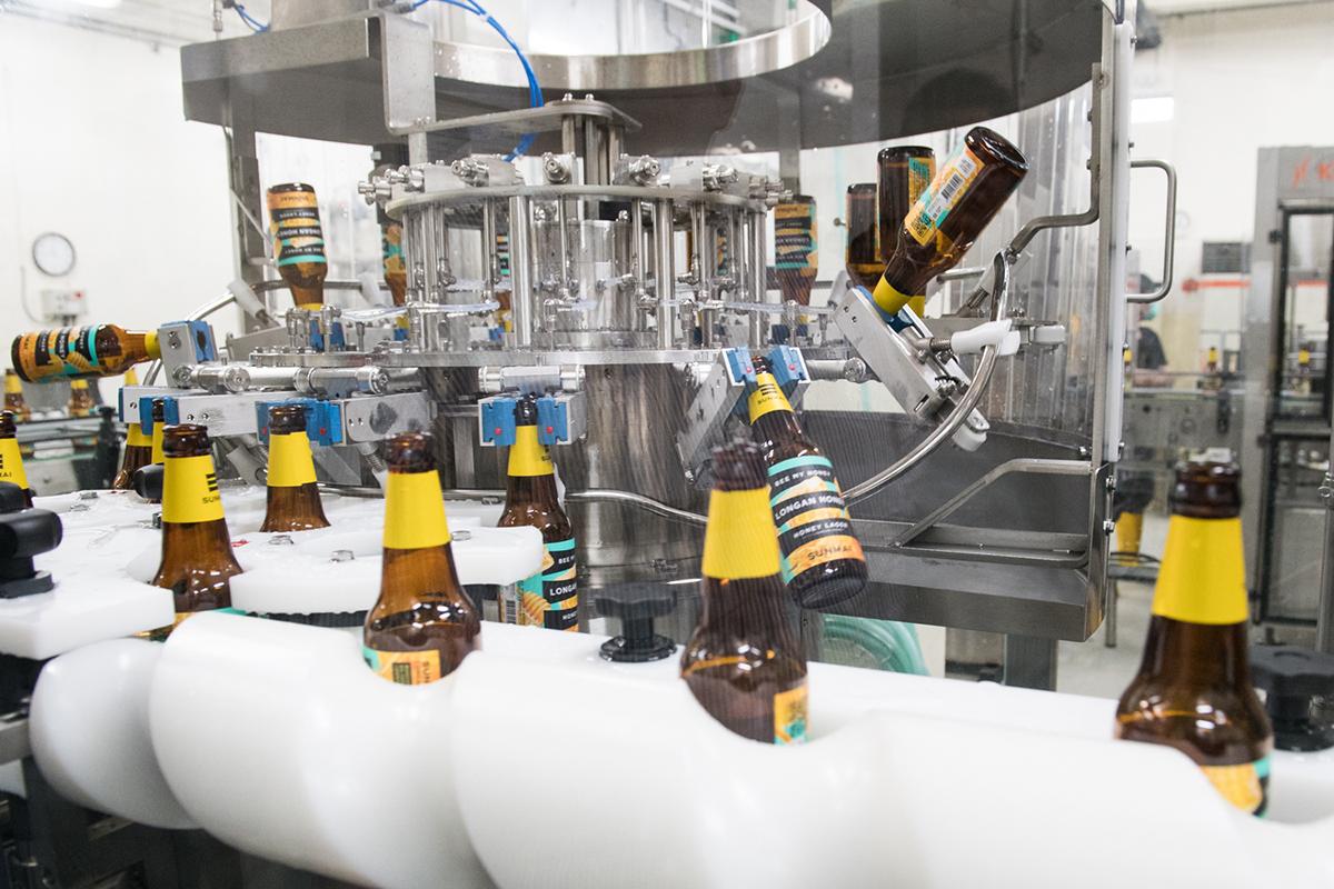 全台第一百變啤酒產線! SUNMAI 啤酒產速飆升 5 倍